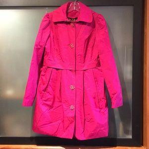 Betsey Johnson Rain Jacket - size S